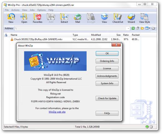Winzip 15 activation code free download